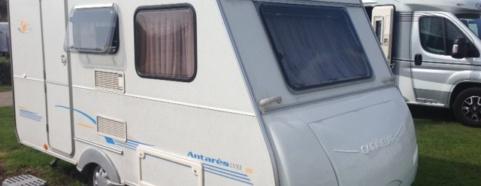 inkoop tweedehands Caravelair caravans