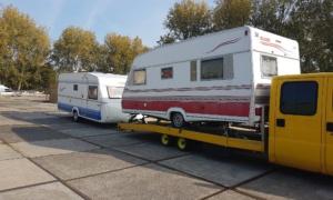 caravan voor export verkopen