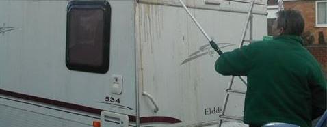 caravan wassen