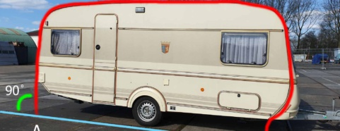Omloopmaten caravan